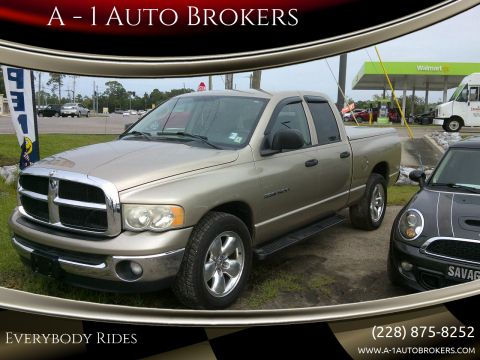 2005 Dodge Ram Pickup 1500 for sale at A - 1 Auto Brokers in Ocean Springs MS