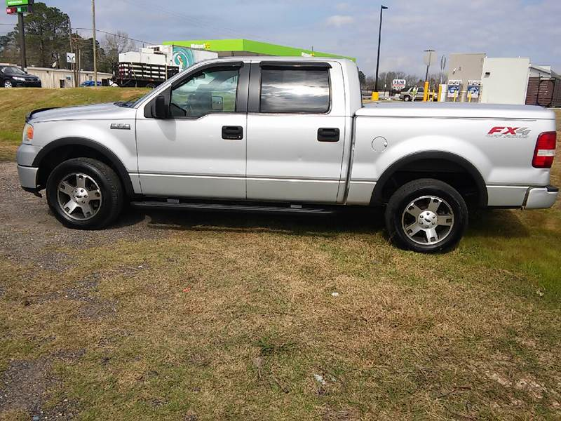2006 Ford F-150 FX4 4dr SuperCrew 4WD Styleside 5.5 ft. SB - Ocean Springs MS