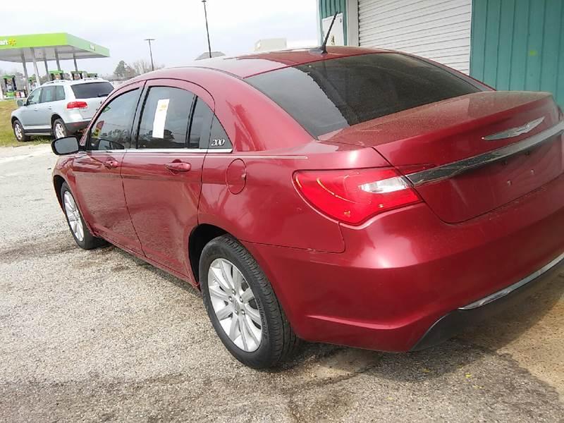 2013 Chrysler 200 Touring 4dr Sedan - Ocean Springs MS