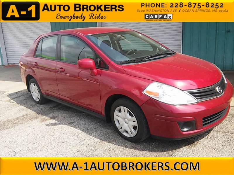 2011 Nissan Versa 1.8 S 4dr Sedan 4A - Ocean Springs MS