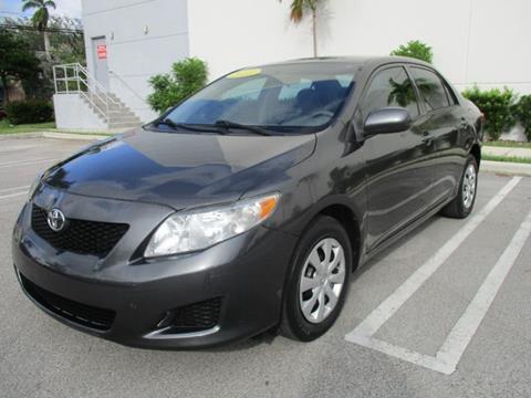 2010 Toyota Corolla for sale in Miami, FL
