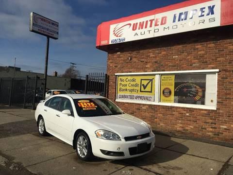 2010 Chevrolet Impala for sale in Detroit, MI