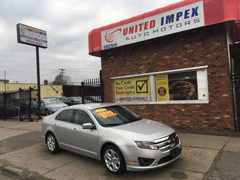 2011 Ford Fusion for sale in Detroit, MI