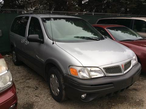2002 Pontiac Montana for sale in Pontiac, MI