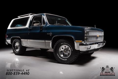1982 Chevrolet Blazer for sale in Scottsdale, AZ