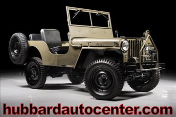 1947 Jeep Willys for sale in Scottsdale, AZ