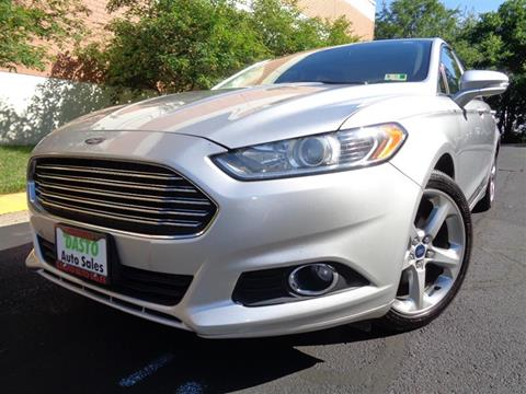2014 Ford Fusion for sale in Manassas, VA