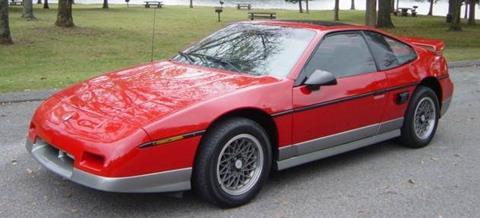 1986 Pontiac Fiero for sale in Hendersonville, TN