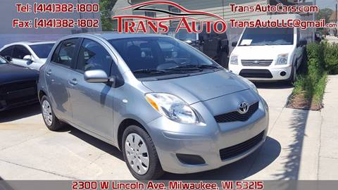 2010 Toyota Yaris for sale at Trans Auto in Milwaukee WI