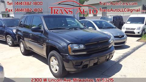 2005 Chevrolet TrailBlazer for sale at Trans Auto in Milwaukee WI