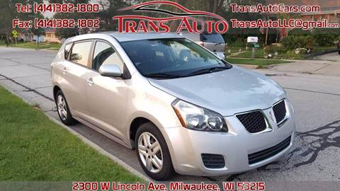 2009 Pontiac Vibe for sale at Trans Auto in Milwaukee WI