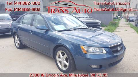 2007 Hyundai Sonata for sale at Trans Auto in Milwaukee WI