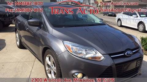 2012 Ford Focus for sale at Trans Auto in Milwaukee WI