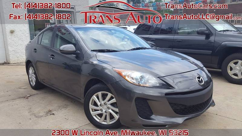 2012 Mazda MAZDA3 for sale at Trans Auto in Milwaukee WI