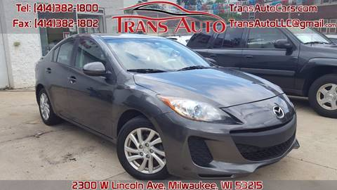 2012 Mazda MAZDA3 for sale at Trans Auto in Milwaukee WI