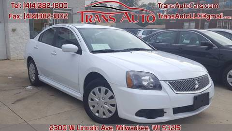 2010 Mitsubishi Galant for sale at Trans Auto in Milwaukee WI