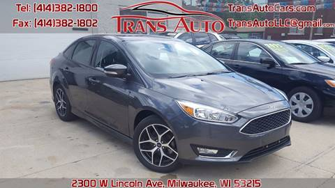 2016 Ford Focus for sale at Trans Auto in Milwaukee WI
