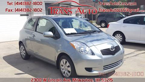 2007 Toyota Yaris for sale at Trans Auto in Milwaukee WI
