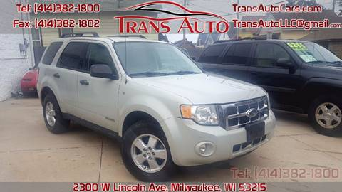 2008 Ford Escape for sale at Trans Auto in Milwaukee WI