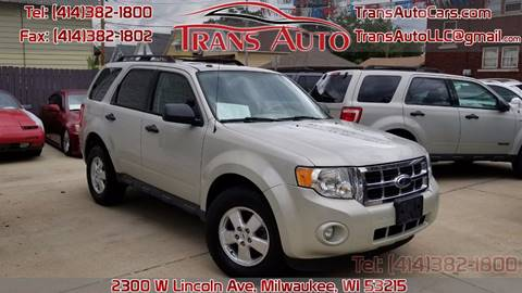 2009 Ford Escape for sale at Trans Auto in Milwaukee WI