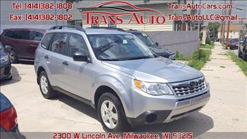 2013 Subaru Forester for sale at Trans Auto in Milwaukee WI