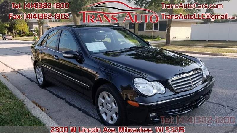 Great 2005 Mercedes Benz C Class For Sale At Trans Auto In Milwaukee WI