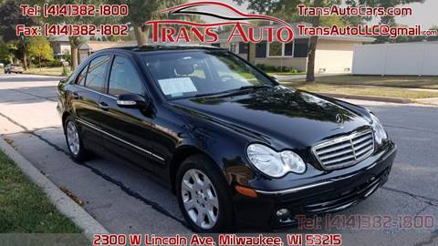 2005 Mercedes-Benz C-Class for sale at Trans Auto in Milwaukee WI