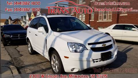 2014 Chevrolet Captiva Sport for sale at Trans Auto in Milwaukee WI