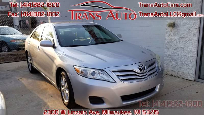 2010 Toyota Camry For Sale >> 2010 Toyota Camry Se Trans Auto
