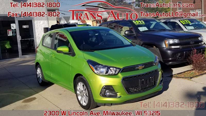 2016 Chevrolet Spark for sale at Trans Auto in Milwaukee WI