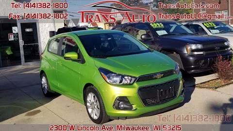 2016 Chevrolet Spark for sale in Milwaukee, WI