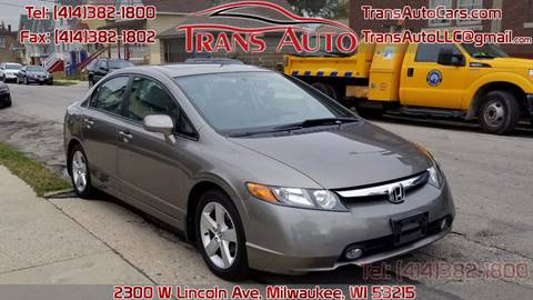 2007 Honda Civic for sale at Trans Auto in Milwaukee WI