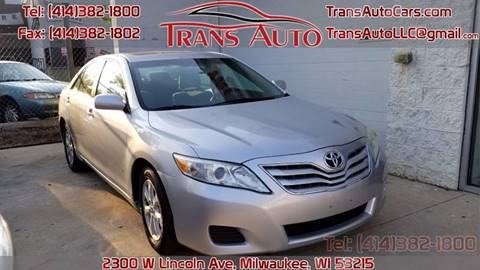 2010 Toyota Camry for sale at Trans Auto in Milwaukee WI