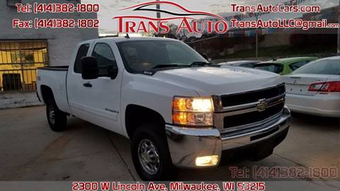 2007 Chevrolet Silverado 2500HD for sale at Trans Auto in Milwaukee WI