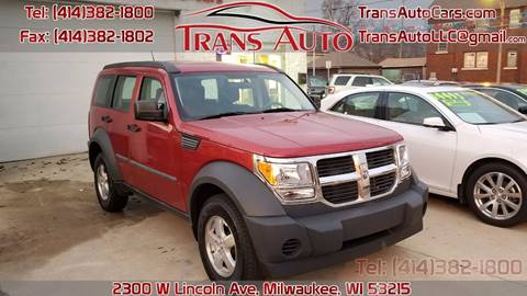 2008 Dodge Nitro for sale at Trans Auto in Milwaukee WI
