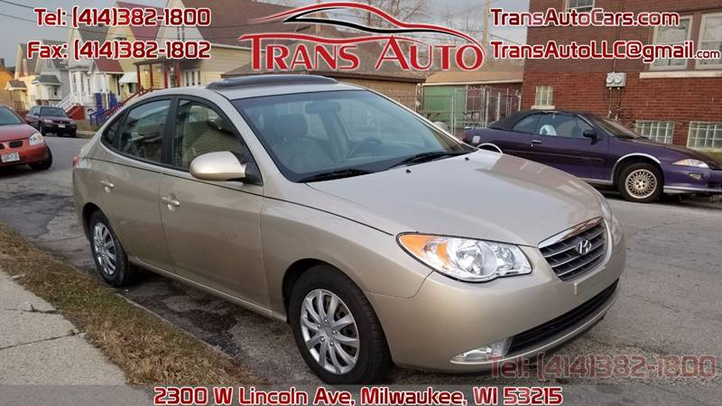2008 hyundai elantra se in milwaukee wi trans auto. Black Bedroom Furniture Sets. Home Design Ideas