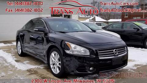 2009 Nissan Maxima for sale at Trans Auto in Milwaukee WI