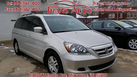 2007 Honda Odyssey for sale at Trans Auto in Milwaukee WI