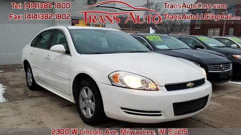 2009 Chevrolet Impala for sale at Trans Auto in Milwaukee WI