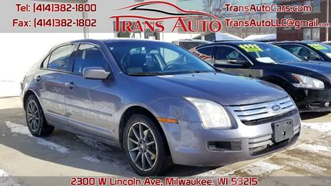 2006 Ford Fusion for sale at Trans Auto in Milwaukee WI
