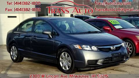 2010 Honda Civic for sale at Trans Auto in Milwaukee WI