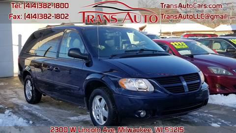 2005 Dodge Grand Caravan for sale at Trans Auto in Milwaukee WI