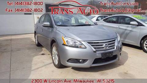 2014 Nissan Sentra for sale at Trans Auto in Milwaukee WI