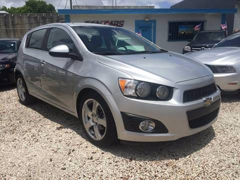 2012 Chevrolet Sonic for sale in Hollywood, FL