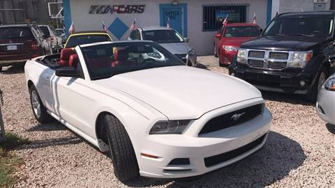 2013 Ford Mustang for sale at IRON CARS in Hollywood FL