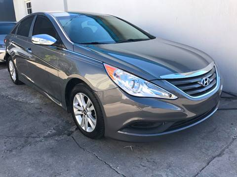 2014 Hyundai Sonata for sale at IRON CARS in Hollywood FL