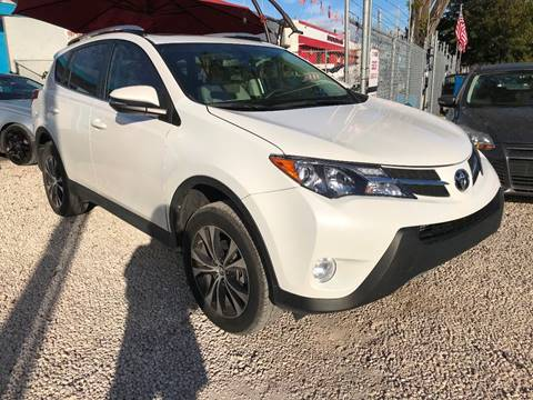 2015 Toyota RAV4 for sale at IRON CARS in Hollywood FL