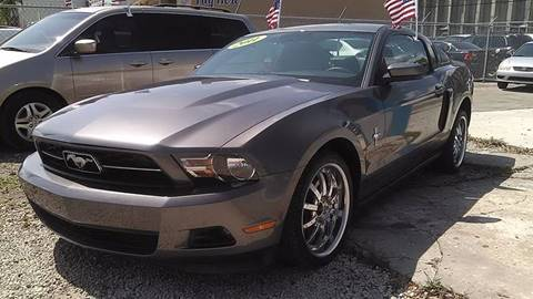 2011 Ford Mustang for sale at IRON CARS in Hollywood FL