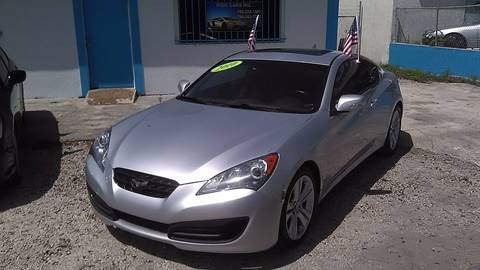 2010 Hyundai Genesis Coupe for sale at IRON CARS in Hollywood FL