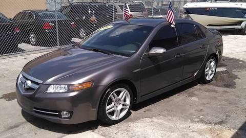 2007 Acura TL for sale at IRON CARS in Hollywood FL